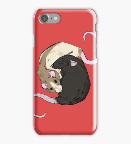 Rat Nap iPhone Case/Skin