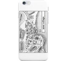 The Prisoner Village Map Design iPhone Case/Skin