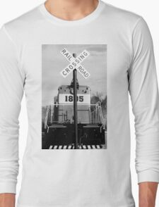 railroad croassing Long Sleeve T-Shirt