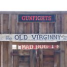 """Front door of the Old Virginia City Saloon"" by waddleudo"