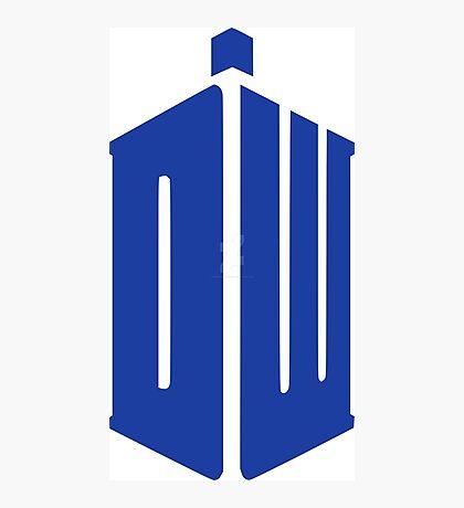 Doctor Who Your Tardis!!! Photographic Print