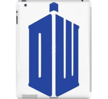 Doctor Who Your Tardis!!! iPad Case/Skin