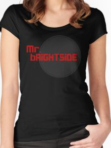 mr brightside red Women's Fitted Scoop T-Shirt