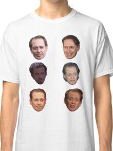 Steve Buscemi Faces Classic T-Shirt
