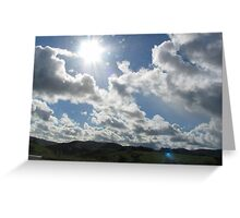 Clouds Greeting Card
