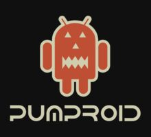 Android Pumproid - Pumpkin Droid One Piece - Short Sleeve