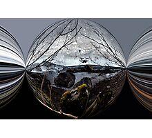 Unter Eis Photographic Print