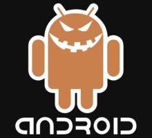 Android Pumproid - Pumpkin Droid Kids Tee