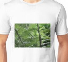 Amongst The Tree Ferns Unisex T-Shirt