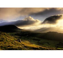Early Morning Rays. Photographic Print
