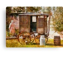 Americana - The Milk and Egg wagon  Canvas Print