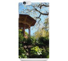 Visby botanic gardens in Spring iPhone Case/Skin