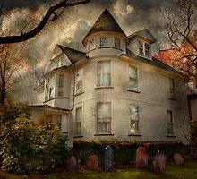 Fantasy - Haunted - The Caretakers House by Mike  Savad