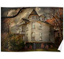 Fantasy - Haunted - The Caretakers House Poster