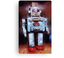 Space Robot by John Springfield Canvas Print
