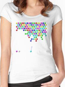 Bubble Shooter Women's Fitted Scoop T-Shirt