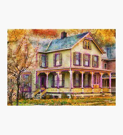 Victorian - Clinton, NJ - Grandma had a big family Photographic Print
