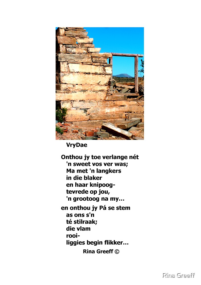 VryDae by Rina Greeff