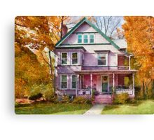 Victorian - Cranford, NJ - An Adorable house Canvas Print