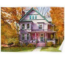 Victorian - Cranford, NJ - An Adorable house Poster