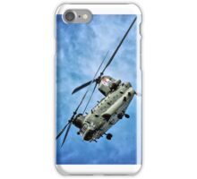 Blade Slap Chinook Display iPhone Case/Skin