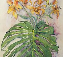 Daylilies by christine purtle