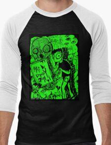 Artwork by Dandy Jon Men's Baseball ¾ T-Shirt