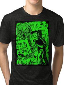 Artwork by Dandy Jon Tri-blend T-Shirt