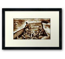 Men of Bravery by John Springfield Framed Print