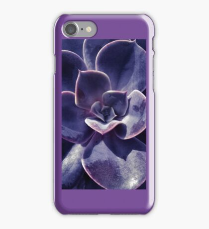 Gothic Flower Purple iPhone Case/Skin