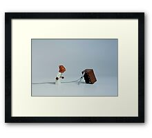 It's a trap? Framed Print
