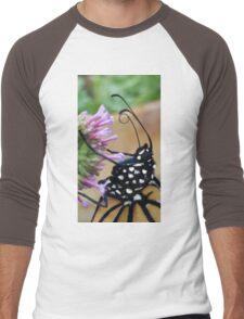 Monarch Butterfly - Breakfast I Men's Baseball ¾ T-Shirt