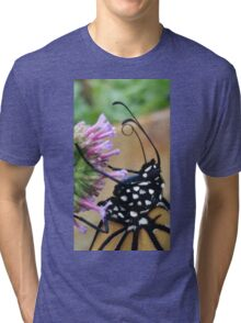Monarch Butterfly - Breakfast I Tri-blend T-Shirt