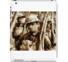 British Soldiers by John Springfield iPad Case/Skin