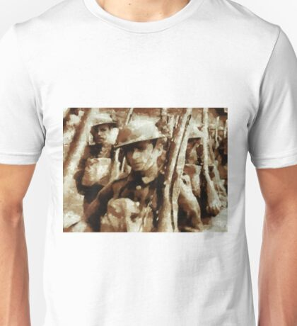 British Soldiers by John Springfield Unisex T-Shirt