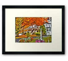 Autumn - Westfield, NJ - The Beauty of Autumn Framed Print