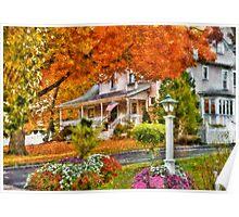 Autumn - Westfield, NJ - The Beauty of Autumn Poster