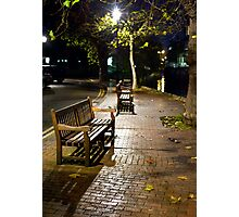 The Bench Photographic Print