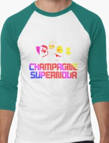 champagne supernova Men's Baseball ¾ T-Shirt