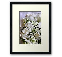 Perfume For A Bride Framed Print
