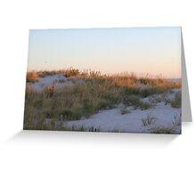 Sand Dune at Sunrise Greeting Card