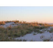 Sand Dune at Sunrise Photographic Print