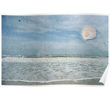 Sand, Sea and Sky Poster