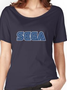 Sega - Classic Logo (distressed) Women's Relaxed Fit T-Shirt