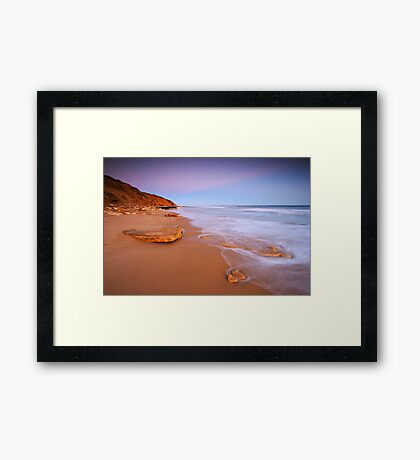 13th Beach at Barwon Heads Framed Print