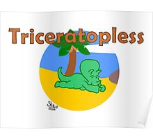 Triceratopless Poster