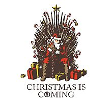 Christmas is Coming Photographic Print