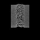 Unknown Pleasures - Joy Division white by Jip v K