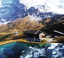 Eiger Squared by Luke Griffin