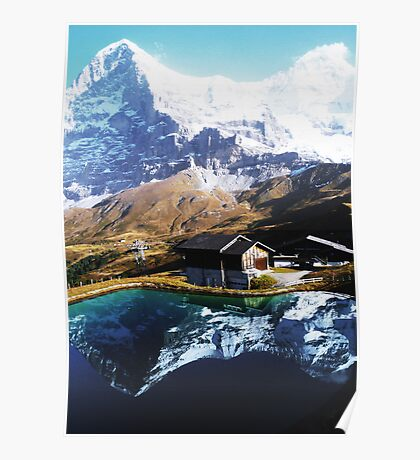 Eiger Squared Poster
